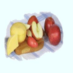 Almát ettem az emlékedre!