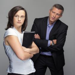 Az erős nő és a férfi