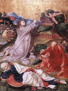 Önmagunk eredete - Jézus az olajfák hegyén