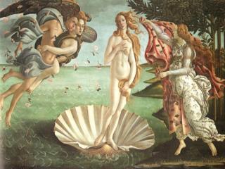 A nő - Botticeli: Vénusz születése