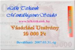 V�s�rl�si Utalv�ny 6 000, 10 000, 20 000 Ft + �FA �rt�kben