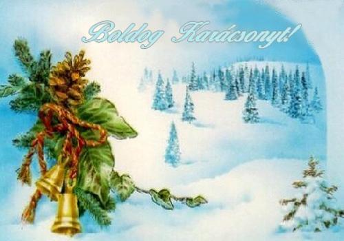 Meghitt, örömteli, békés, boldog ünnepeket kívánunk